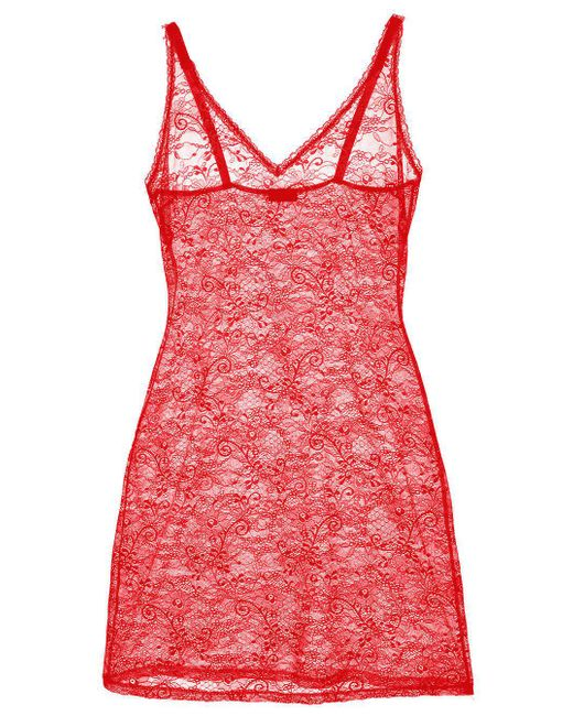 Cosabella | Pink Trentatm Lace Slip | Lyst
