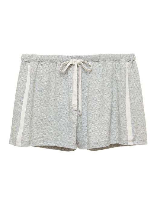Cosabella - Gray Hustle Houndstooth Boxer - Lyst