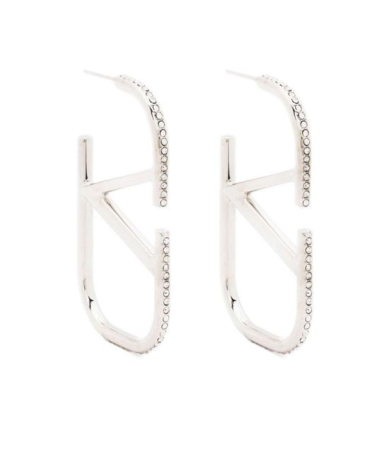 Valentino Multicolor Vlogo Signature Earrings