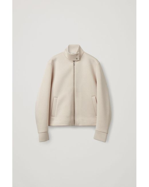 COS Natural Boxy Jacket