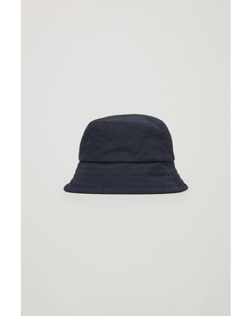 Lyst - COS Bucket Hat in Blue for Men f08afb90f59