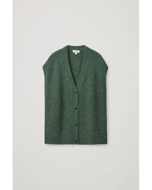 COS Green Knitted Vest