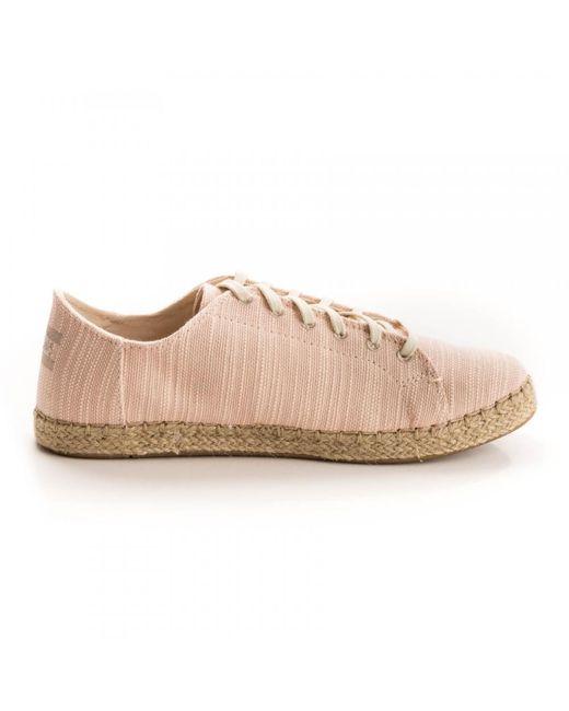 TOMS Lena Bloom Slubby Cotton Sneaker