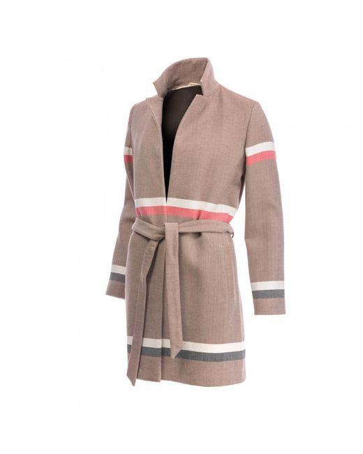 BOSS Multicolor Casual Origana Womens Coat