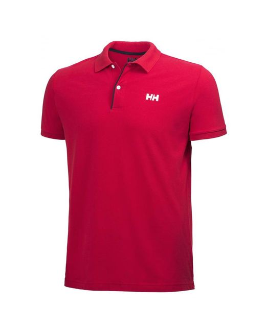 Helly Hansen - Red Crew Hh Classic Mens Polo for Men - Lyst