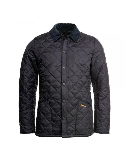 Barbour - Blue Heritage Liddesdale Quilted Mens Jacket for Men - Lyst