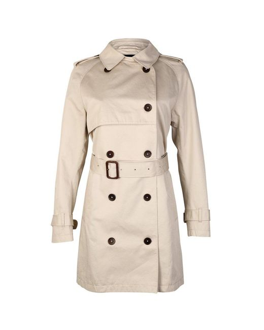 Gant | Natural La Prep The Perfect Ladies Trench Coat | Lyst