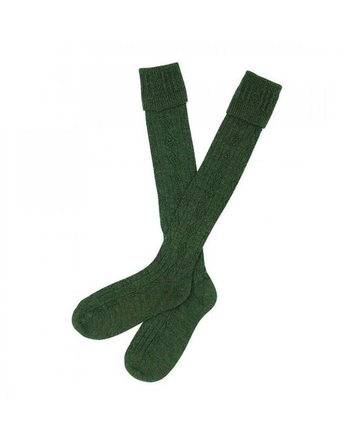 Barbour - Green Tweed Gun Stockings for Men - Lyst