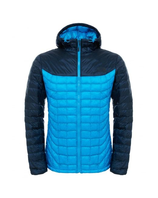 The North Face | Blue Thermoball Hoodie for Men | Lyst