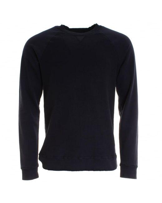 Samsøe & Samsøe | Blue Bailey O-n Mens Sweatshirt for Men | Lyst