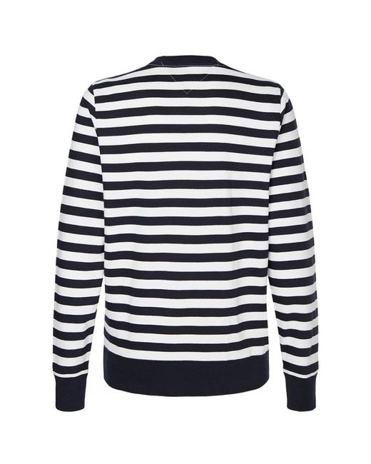 Tommy Hilfiger White Th Cool Signature St Heavyweight Knit for men