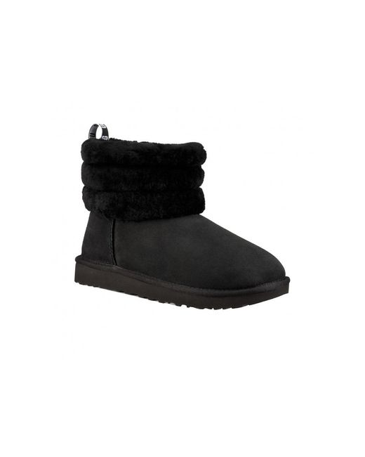 Ugg Black Quilted Boots