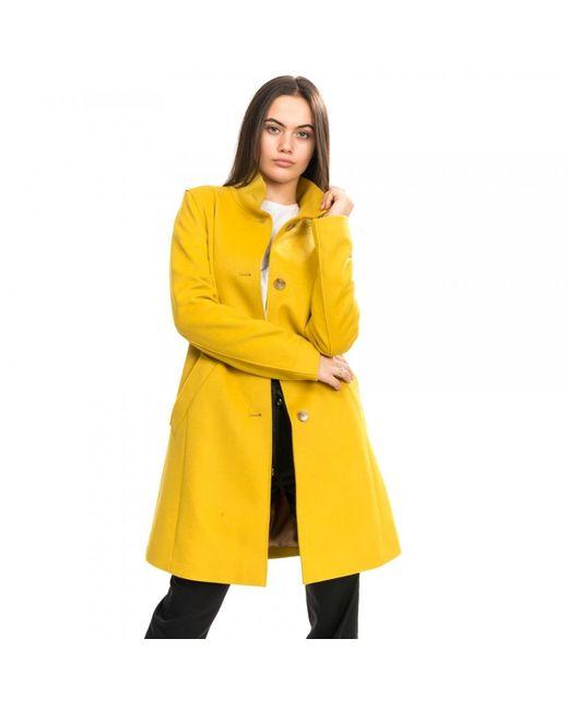BOSS Yellow Ojulie Womens Coat