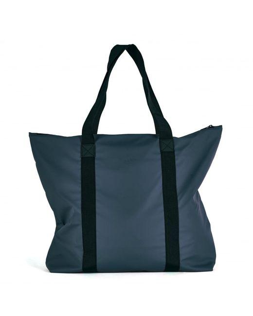 Rains Blue Tote Bag for men