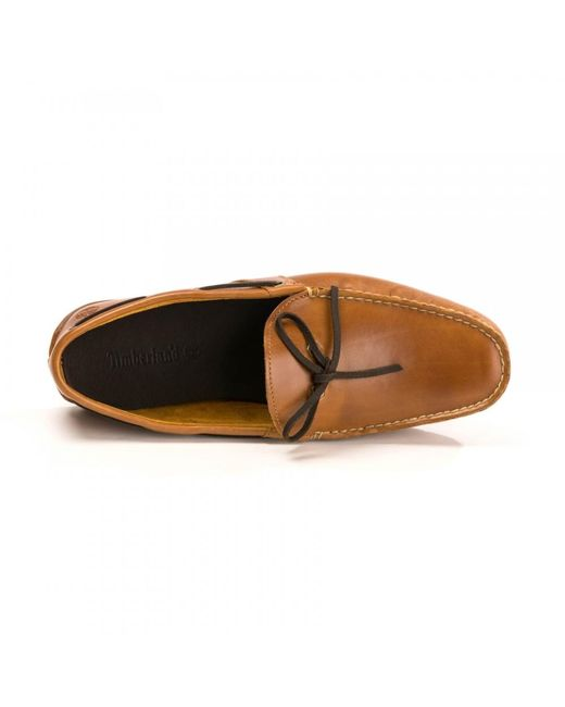 Timberland Lemans Gent Mocboat Mid Brown for Men Lyst
