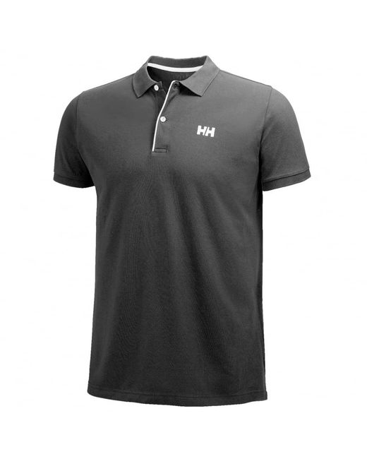 Helly Hansen | Black Crew Hh Classic Mens Polo for Men | Lyst