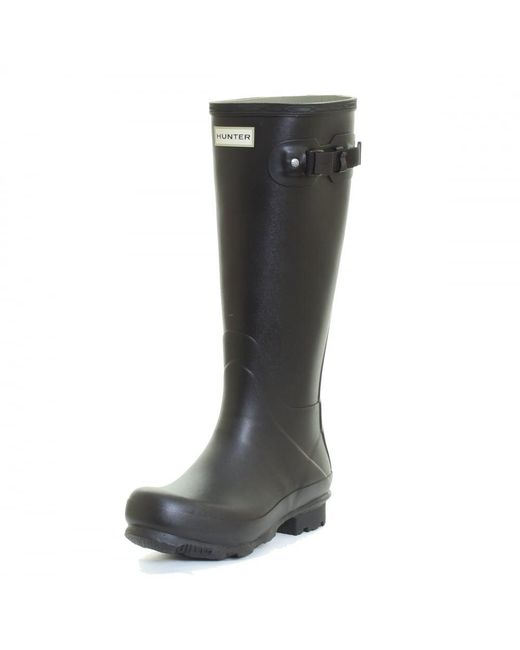 Hunter - Black Norris Field Mens Wellingtons for Men - Lyst