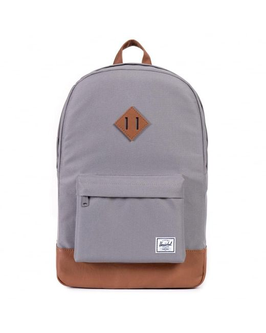 Herschel Supply Co. - Gray Grey/tan Heritage Backpack - Lyst