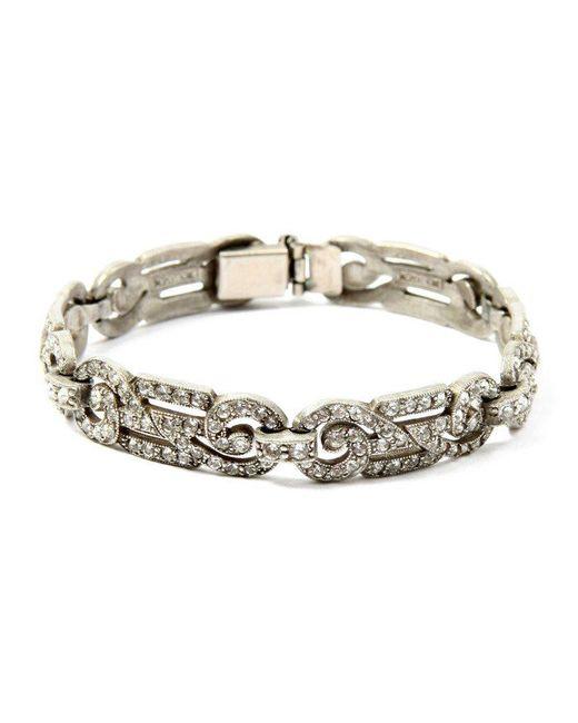 Ben-Amun - Metallic Belle Epoque Deco Bracelet - Lyst