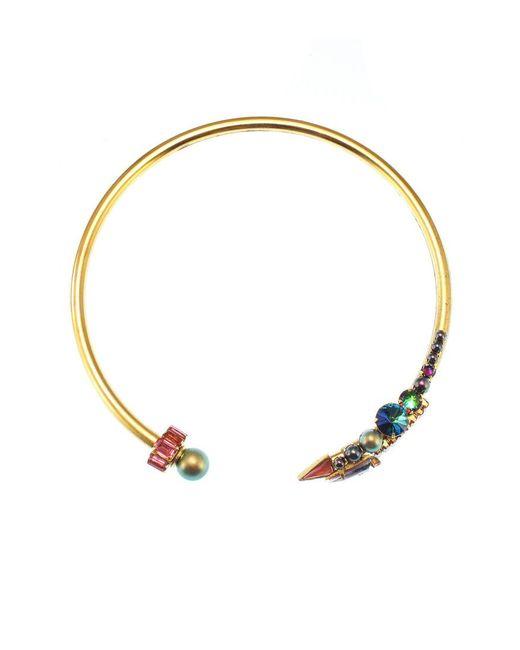 Elizabeth Cole | Multicolor Logann Necklace Fireworks | Lyst