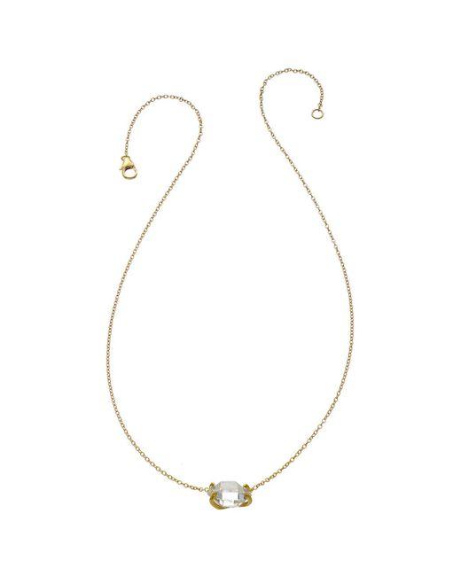 Heather Hawkins | Metallic Herkimer Diamond Necklace | Lyst