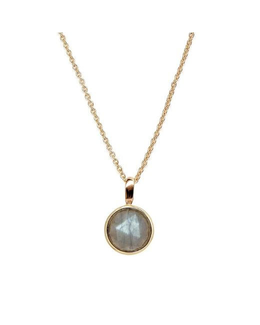 Rachael Ryen - Metallic Rose Cut Labradorite Necklace - Lyst