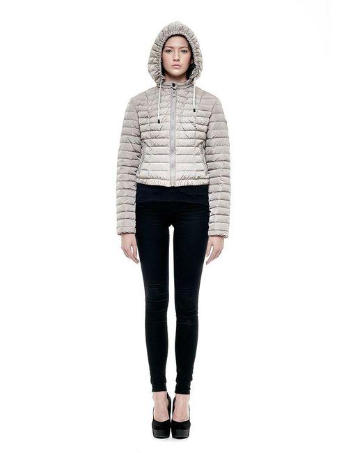 Snowman New York | Metallic Stealth Jacket In Silver Grey | Lyst