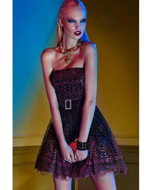 Alyce Paris - Purple Homecoming - Dress In Violet Solid - Lyst