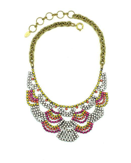 Elizabeth Cole | Multicolor Austen Necklace | Lyst