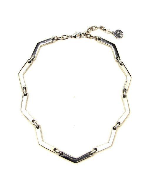 Ben-Amun - Metallic Sculptural Geometric Necklace - Lyst