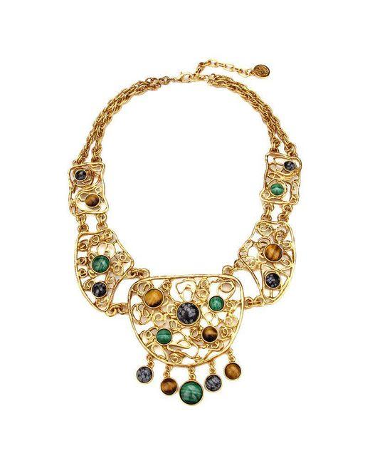Ben-Amun - Metallic Gypset Metal Lace Collar Necklace - Lyst