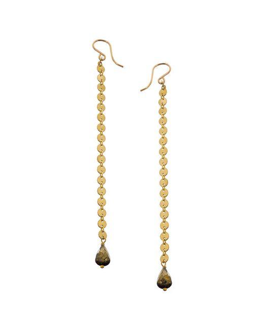 Heather Hawkins - Metallic Long Duster Coin Earrings - Lyst