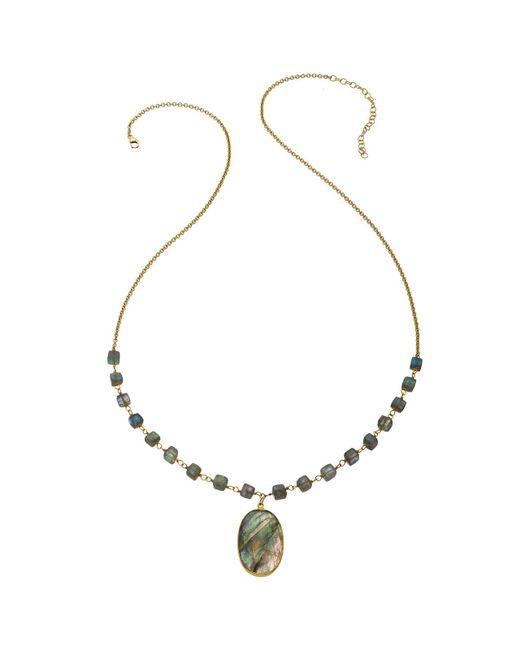 Heather Hawkins - Black Faceted Labradorite Necklace - Lyst