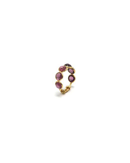Trésor | Metallic Rhodolite Garnet Ring Band In K Yellow Gold | Lyst
