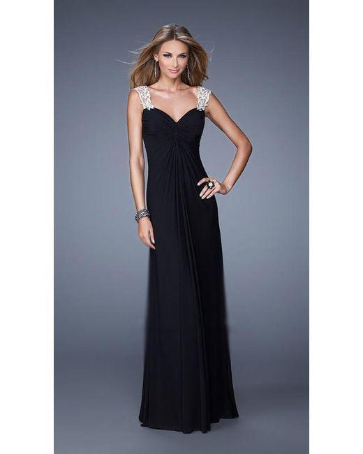 935ea297c7 Lyst - La Femme 21104 Prom Dress in Black