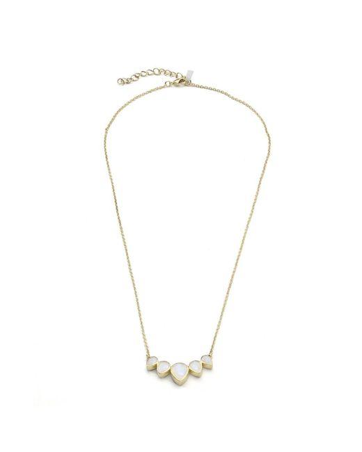 Margaret Elizabeth   Black Sutro Drop Necklace Moonstone   Lyst