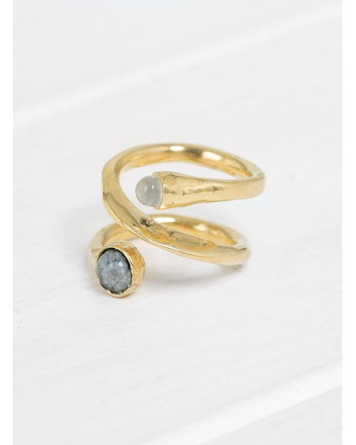 Odette New York - Multicolor Axis Ring - Lyst
