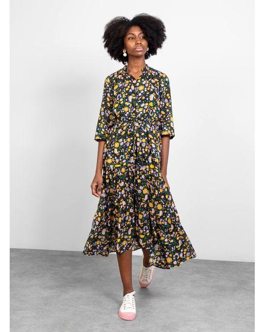 Apiece Apart Multicolor Agata Dress Ester Floral Multi