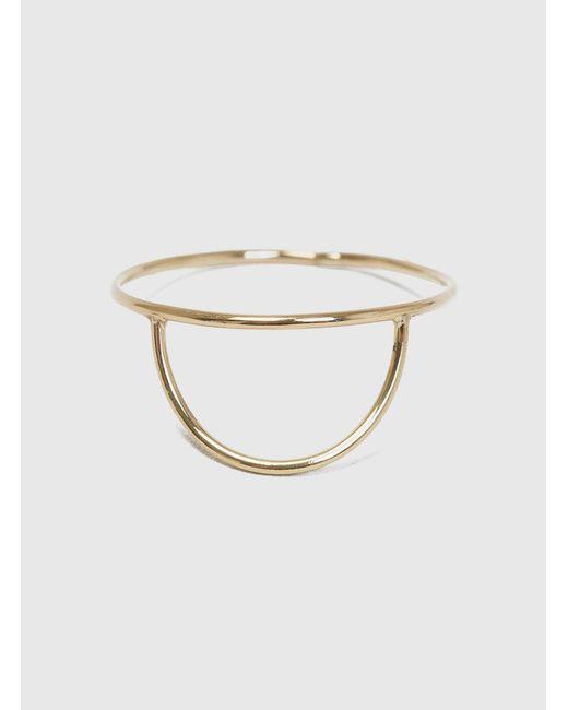 Katrine Kristensen - Metallic Sun Wire Ring - Lyst