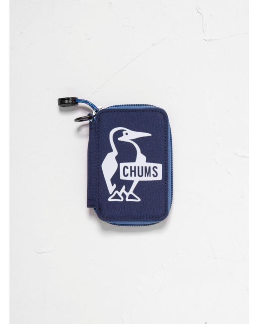 Chums - Blue Eco Zip Key Case - Lyst