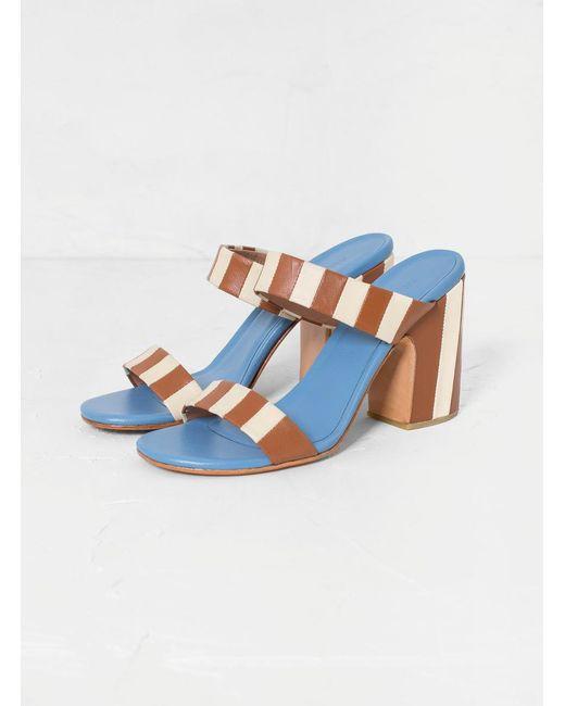 Rachel Comey Blue Spritz Sandals