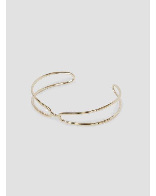Helena Rohner | Multicolor Open Goldplated Wire Bangle | Lyst