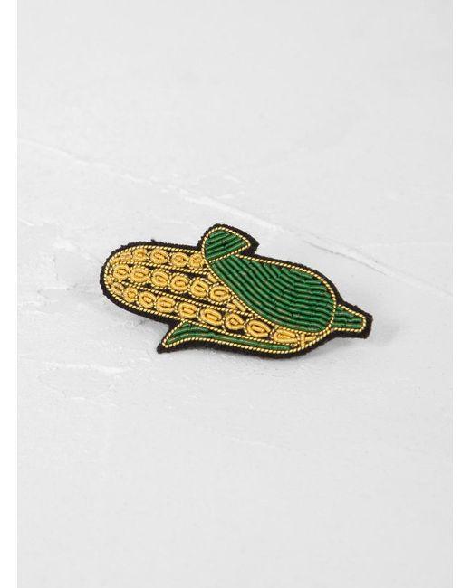 Macon & Lesquoy - Multicolor Corn Cob Brooch - Lyst