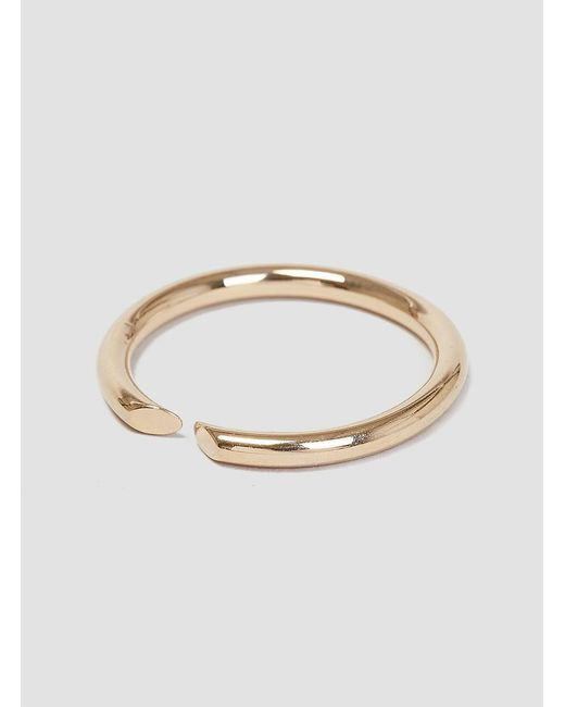 Helena Rohner | Metallic Open Thin Wire Ring | Lyst