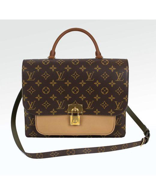 creps-locker Louis Vuitton Marignan Monogram Brown Handbag
