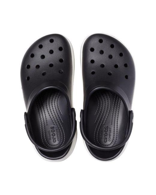 Crocs™ Black / White Crocband Full Force Clog for men