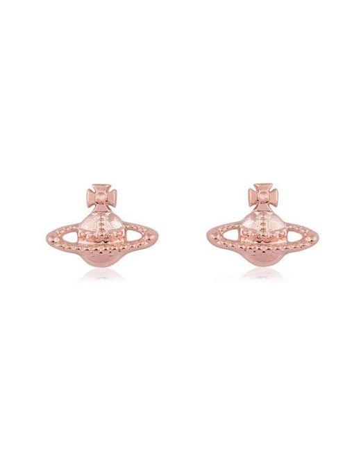 Vivienne Westwood Pink Farah Earrings