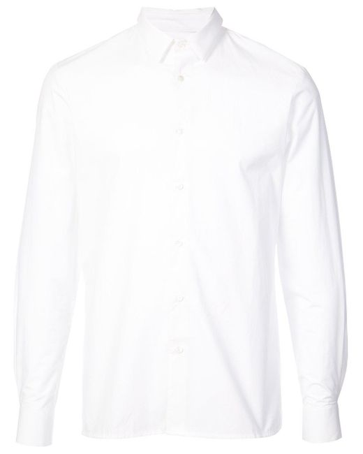 Stephan Schneider - White Cotton Poplin Shirt Flag for Men - Lyst