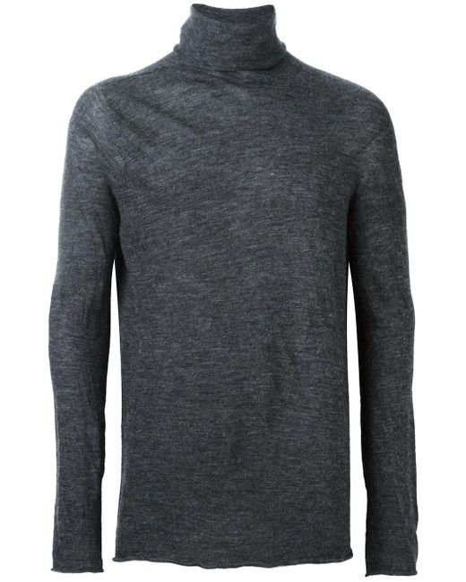 Lost & Found - Multicolor 3d Alpaca High Neck Top for Men - Lyst