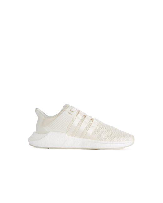 Adidas originali eqt sostegno 93 / 17 bianco in bianco per gli uomini lyst